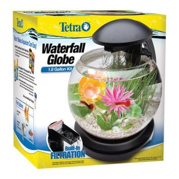 "Waterfall Globe Aquarium -  9.7"" X 11"" X 12.6"""