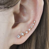 Romantic Sparkling Ear Cuffs