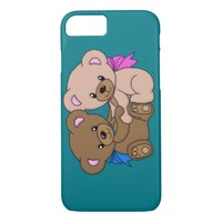 Cute Baby Bears Graphic iPhone 7 Case