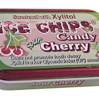 ICE CHIPS® Cherry Xylitol Mints