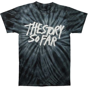 Story So Far Men's  Logo Tie Dye T-shirt Multi Rockabilia