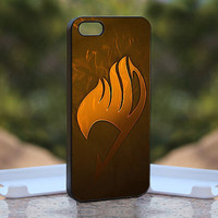 fairy tail guild MQL0200 - Design available for iPhone 4 / 4S and iPhone 5 Case - black, white and clear cases