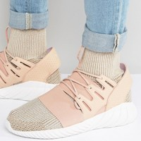 adidas Originals Tubular Doom PK Sneakers In Beige BB2390 at asos.com