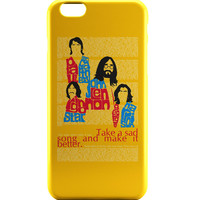 Beatles| Take a Sad Song and Make It Better Typography iPhone 6 | iPhone 6S Case