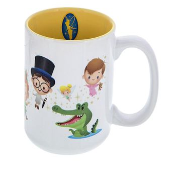 disney parks jerrod maruyama peter pan wendy hook smee ceramic coffee mug new