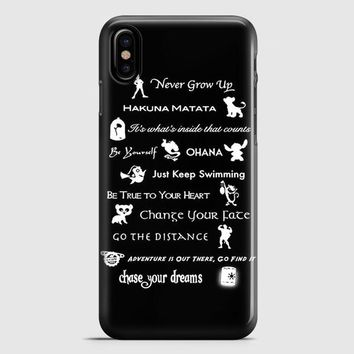 Disney Heroine iPhone X Case