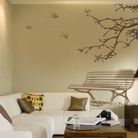 Public park Wall decals by Couture Deco