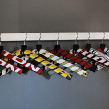 Hockey Stick Hangers  New hangers made from by HockeyStickStuff