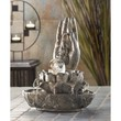 Hand Of Buddha Faux Stone Indoor Tabletop Water Fountain Accent