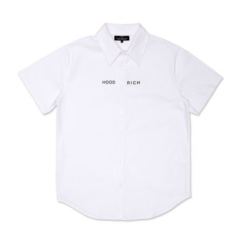 WHITE HOOD RICH DRESS SHIRT
