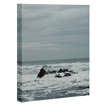 Chelsea Victoria Ocean Rock Crash Art Canvas