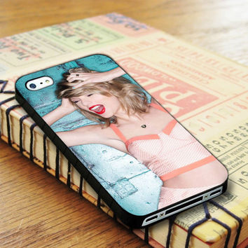 Taylor Swift Badboy Style Singer 1989 iPhone 4 | iPhone 4S Case