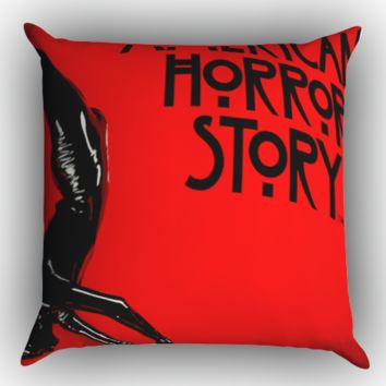 American Horror Story Cover  Z0206 Zippered Pillows  Covers 16x16, 18x18, 20x20 Inches