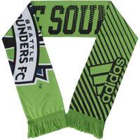Seattle Sounders FC adidas Sublimated Print Scarf - Green - http://www.shareasale.com/m-pr.cfm?merchantID=7124&userID=1042934&productID=547706798 / Seattle Sounders FC