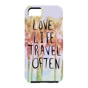Lisa Argyropoulos Love Life Travel Often Tropical Cell Phone Case