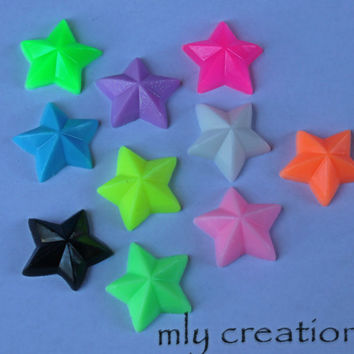 30 BULK MINI STAR Soaps.Star Soaps / Star Soap Set /  Baby Shower Favor / Party Favor /handmade soap, custom color, custom scent, 5 ounce