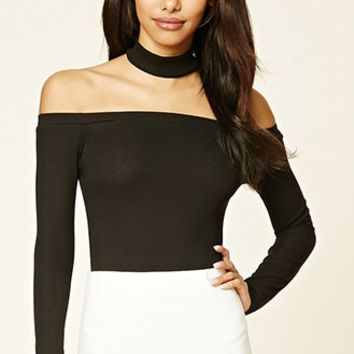 Choker Neck Bodysuit