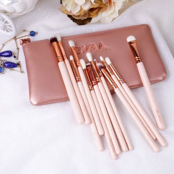 12-pcs Make-up Brush Eye Shadow Tools Make-up Brush Set [6381296068]