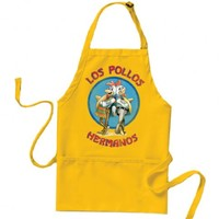 Breaking Bad Los Pollos Hermanos Logo Yellow Apron
