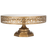 """14"""" Metal Wedding Cake Stand 