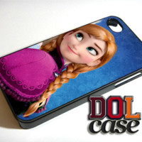 Disney Frozen Sisters Anna and Elsa Best Friend 2 iPhone Case Cover|iPhone 4s|iPhone 5s|iPhone 5c|iPhone 6|iPhone 6 Plus|Free Shipping| Beta 317