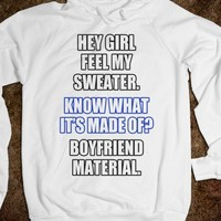 HEY GIRL - funny sweater - underlindesign