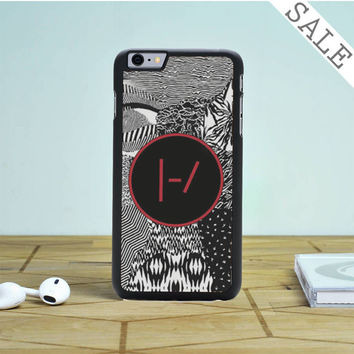 twenty one pilots blurryface patterns iPhone 6 Plus iPhone 6 Case