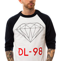 Diamond Supply Co. The DL98 Baseball Tee in Navy and White : Karmaloop.com - Global Concrete Culture