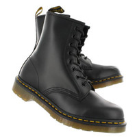 Dr Martens | Women's 1460 8-Eye black smooth leather boots - UK 11821006