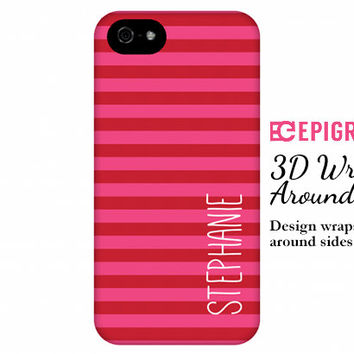 Personalized iPhone 6 case, iPhone 6 plus, custom iPhone 5c case, iPhone 5s case, custom iPhone 4s phone cases, galaxy s5 case, stripes