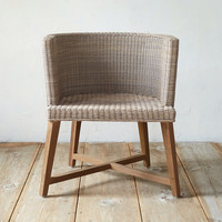 All Weather Wicker Round Dining Chair