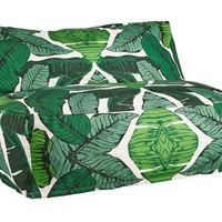 Outdoor Lounge Chair, Banana Leaf, Outdoor Poufs