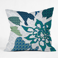 DENY Designs Home Accessories | Karen Harris Constance In Blue Blossom