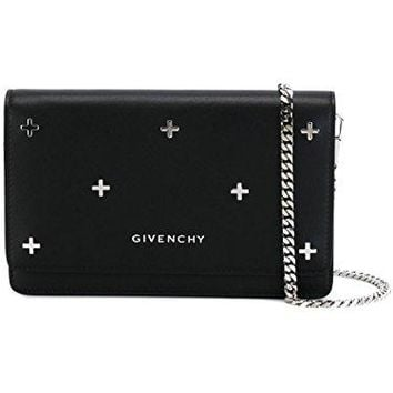 GIVENCHY WOMEN'S BC06250683001 BLACK LEATHER SHOULDER BAG