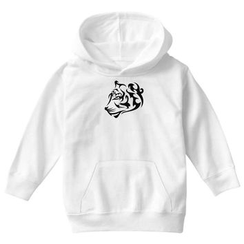 tribal tiger Youth Hoodie