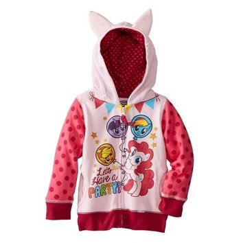 """Lets have a party"" My Little Pony Hoodie"