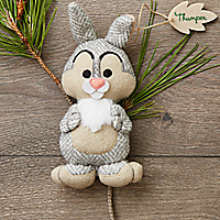 Thumper Disney Parks Storybook Plush Ornament