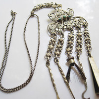 Tibetan Chatelaine with Grooming Kit