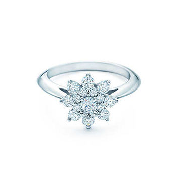 Tiffany Flower Engagement Rings | Tiffany & Co.