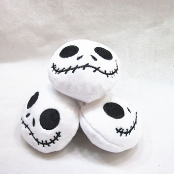 "[PCMOS] 2017 New The Nightmare Before Christmas Jack 3"" Mini Pendant Plush Stuffed Toy Doll 1pc Arcade Prizes 3322"
