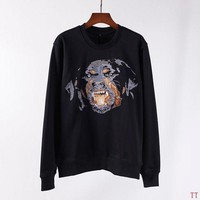 DCCKI2G Givenchy Woman Men Fashion Embroidery Top Sweater Pullover