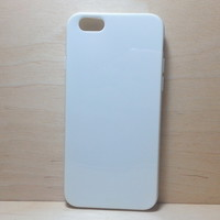 For Apple iphone 6 (4.7 inches) Candy Color TPU Soft Silicone case - White