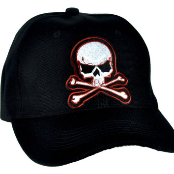 Skull & Crossbones Skater Hat Baseball Cap Thrasher Clothing DGK