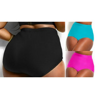Women's Plus Size New Solid Color Bikini Swim Trunks