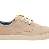 TOMS Sesame Canvas Men's Paseos Natural