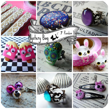 Mystery Bag XL (Gothic Kawaii or Michi Michi Style) - 7 Random Items