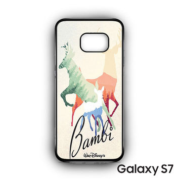 Bamby Walt Disney for Samsung Galaxy S7 phonecases