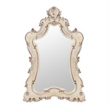 Colette Antique White Venetian Mirror, 33x49 | Kirkland's