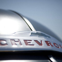 Chevrolet Silver Space Age Photograph