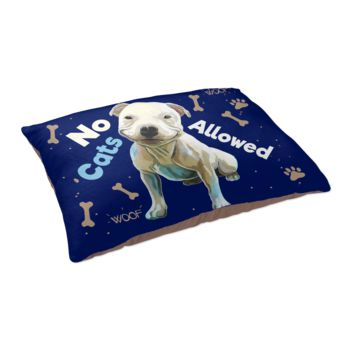 Dog Breed X-Large Dog Bed - Pit Bull Bed, Dog Pillow